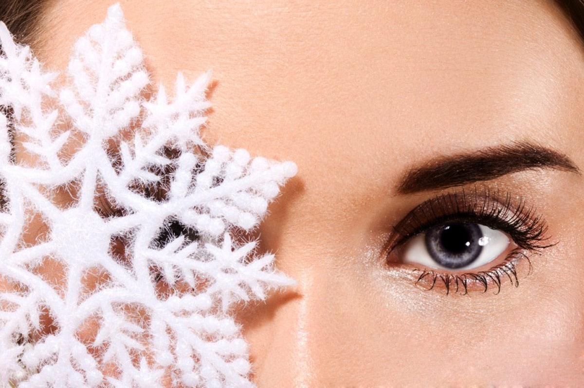 Rotina de cuidado de pele de inverno